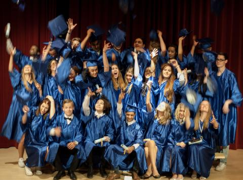 First Graduating Class from IES Tyresö
