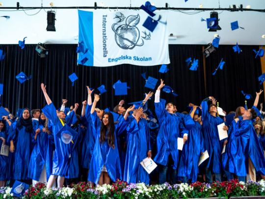 Thousands of IES graduates move on to new challenges